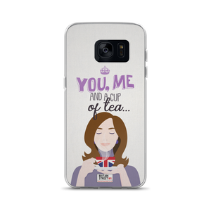 'You, Me and a Cup of Tea' Samsung Case - Britain Street