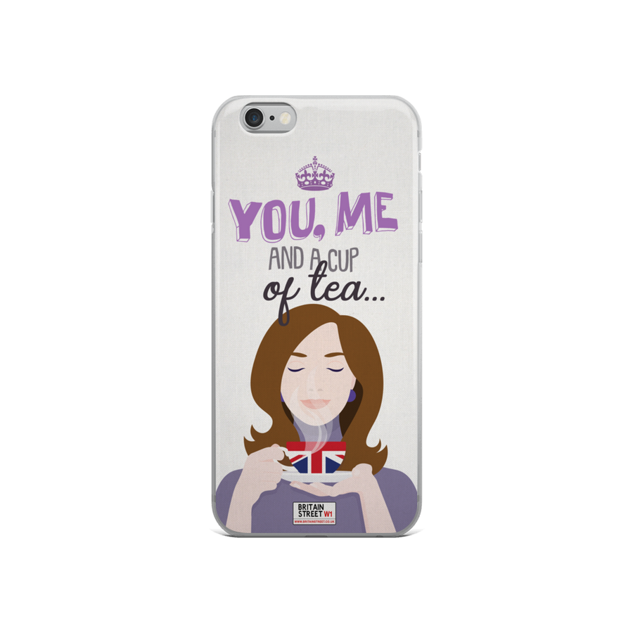 'You, Me and a Cup of Tea' iPhone Case - Britain Street