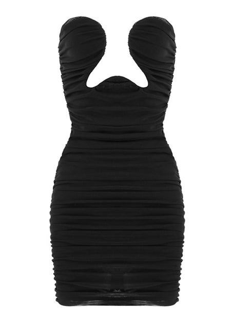 STELLA SEXY BODYCON MIDI DRESS