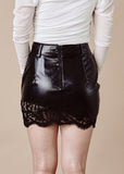 CELIA BLACK MINI SKIRT