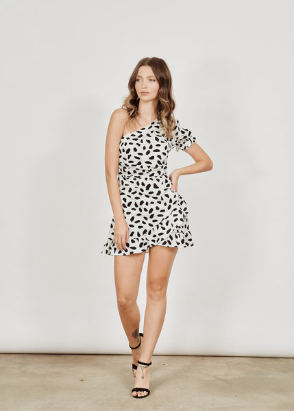 NAOMI POLKA DOTS MINI DRESS