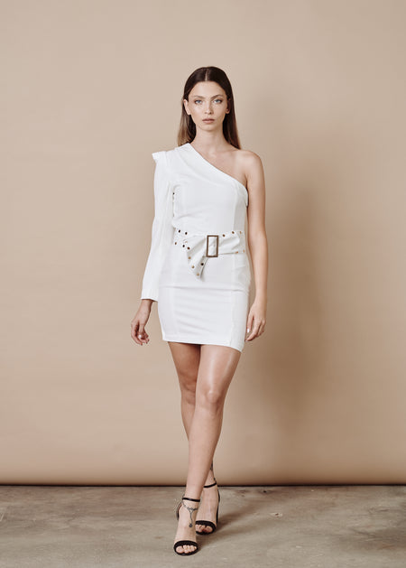 JANICE WHITE DRESS