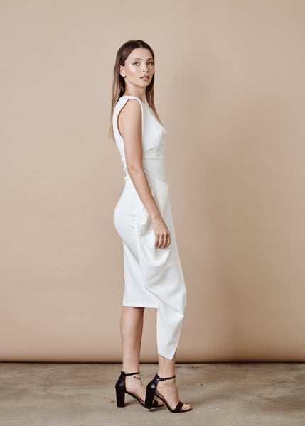 MARIANA WHITE MAXI DRESS