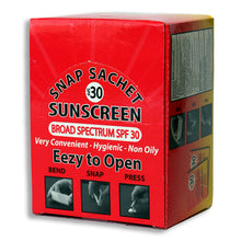 Load image into Gallery viewer, SPF 30 Sunscreen | Pack of 60