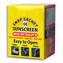 Load image into Gallery viewer, SPF 50 Sunscreen | Pack of 60