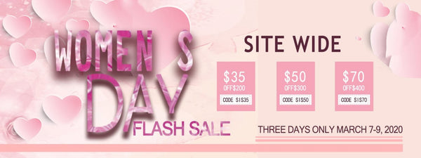 Women's Day Flash Sale