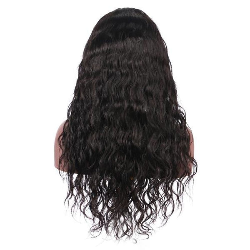 Abby | 13X6 Deep Parting Lace Front Preplucked Virgin Human Hair Lace Wig | Natural Wave