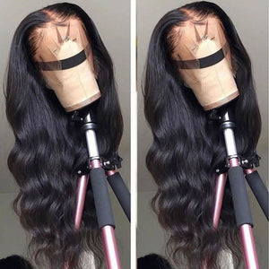 Allison | Diamond Fake Scalp 13X6 Human Hair Lace Front Wig | Body Wave