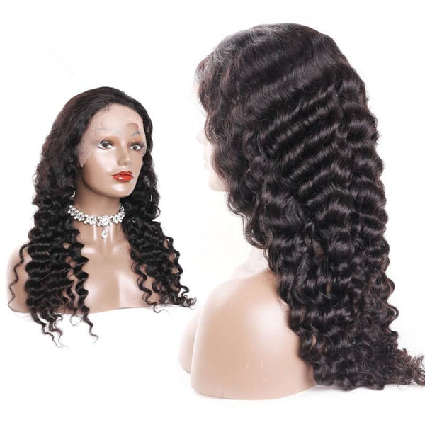 Andrea| Preplucked Virgin Human Hair 360 Lace Wig | Loose Wave