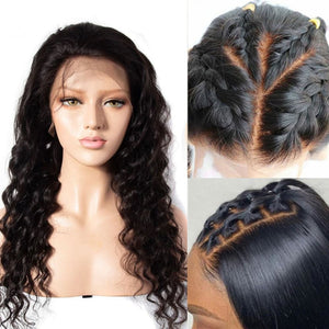 Brianna | Diamond Fake Scalp 13X6 Human Hair Lace Front Wig | Loose Wave