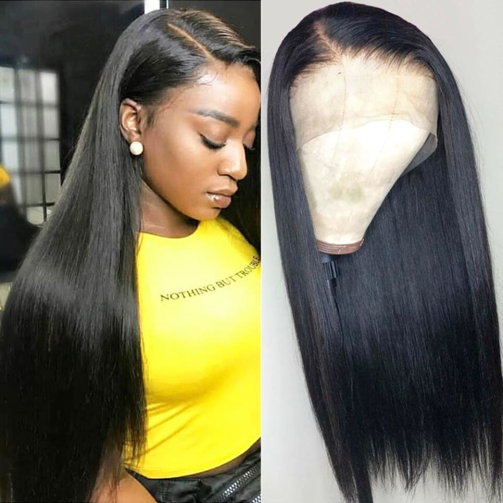 Eva | Preplucked Virgin Human Hair 360 Lace Wig | Silky Straight
