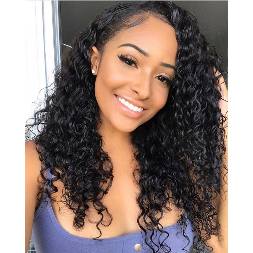 Hanna | Invisible Knots 370 Lace Frontal Wig | Water Wave