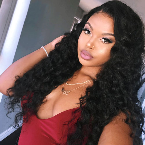 Hellen | 13X6 Deep Parting Lace Front Preplucked Virgin Human Hair Lace Wig | Loose Wave