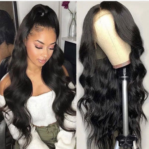 Joy| Preplucked Virgin Human Hair Lace Wig | Body Wave