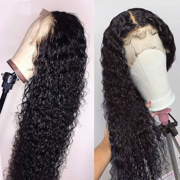Mia 13*6 Skin Melt Lace Front Jerry Curly Wig Invisible Swiss Lace+ Invisible Knots