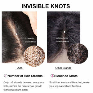 NEW Launch 13*6 Skin Melt Wig Invisible Swiss Lace+ Invisible Knots