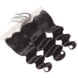 Swiss Lace Pre-Plucked Hairline Lace Frontal With Baby Hair Body Wave