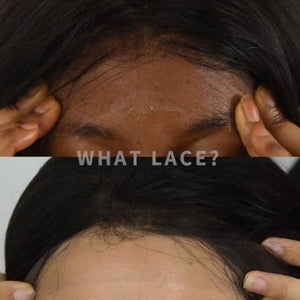 Swiss Lace Pre-Plucked Hairline Lace Frontal With Baby Hair Straight