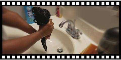 how to wash a human hair lace front wig
