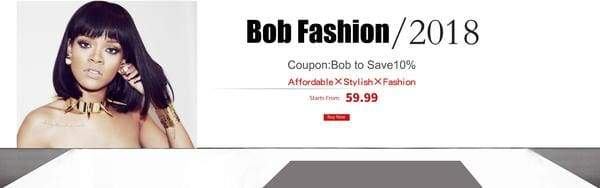 Bob Fashion 2018 Big Sale Afsisterwig