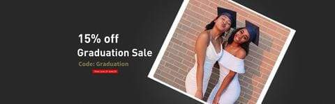 Graduation Big Sale Afsisterwig 15% Off
