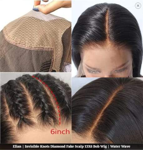 How to sew a fake scalp yourself ?