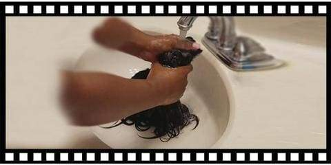 wash a lace front wig