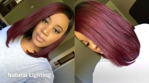 Perfect For Summer----Gorgeous Ombré Bob Lace Front Wig