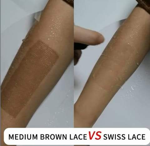 The differrence between the Swiss lace&normally lace