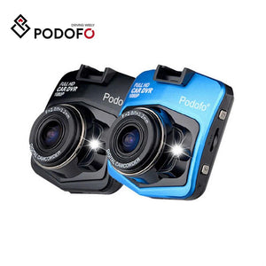 Original Podofo A1 Mini Car DVR Camera Dashcam Full HD 1080P Video Registrator Recorder G-sensor