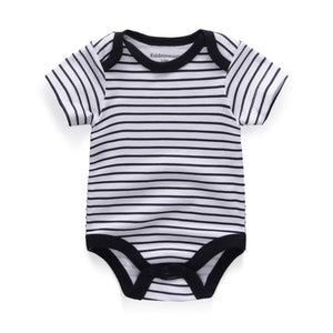 5pcs Baby Clothes 2019 Baby Rompers Cotton Infant short Sleeve Jumpsuits Boy Girl Summer Baby