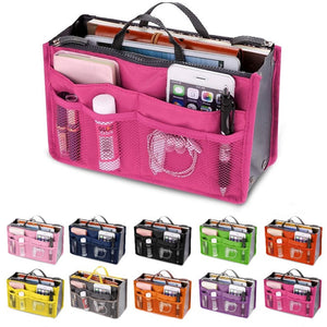 Multifunction Zipper Women Storage Cosmetic Bag Organizer Waterproof Portable Makeup Bag Travel Accessories Beauty Wash Pouch 30
