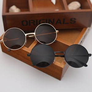 Round lens spectacle Sunglasses for Women/men female sunrods occulos of male soil fashion Colorful design sun glasses
