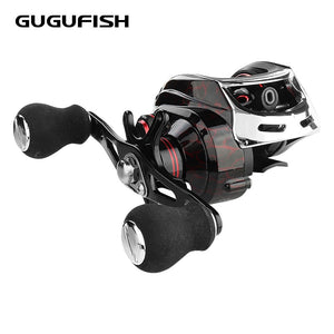 GUGUFISH Left/Right Hand Baitcasting Fishing Reel 7.2:1 Bait Casting Fishing Wheel With Magnetic