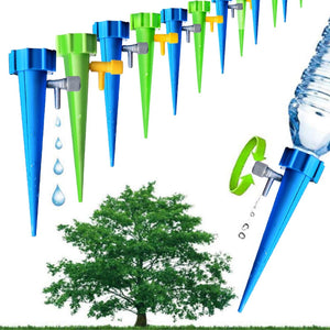 6pcs Automatic Irrigation Watering Spike for Plants Flower Indoor Household Auto Drip Irrigation