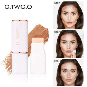 O.TWO.O Air Cushion Concealer Stick Full Coverage Contour Face Makeup Lasting Foundation Base Hide