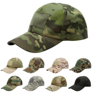 Puimentiua 17 Pattern For Choice Snapback Camouflage Tactical Hat Patch Army Tactical Baseball Cap Unisex Camo Hat
