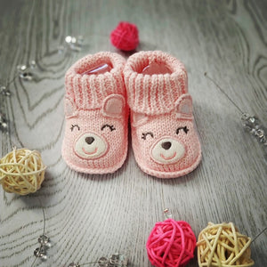 Lion Bear infant Baby foot socks for babies 0-3 months newborns shoes for girls boys cotton animal