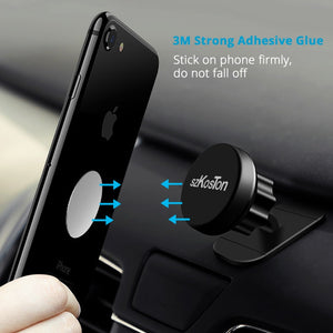 5pcs/1pc/lot Metal Plate Disk For Magnet Car Phone Holder iron Sheet Sticker For Magnetic Mobile