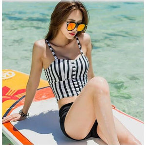 Crop Top Cami Tank Top Women Female Slimming Movement Striped Women Top Sexy Cropped Tops Tank Elasticity Women Feminino Bustier