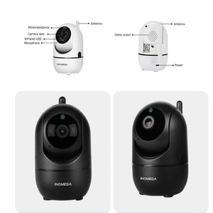 Auto Tracking Of Human Home Security Surveillance CCTV Network Wifi Camera