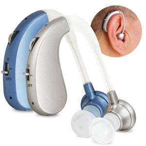 Rechargeable Mini Digital Hearing Aid Sound Amplifiers Wireless Ear Aids for Elderly Moderate to
