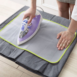 HOOMIN Protective Insulation Ironing Board Cover Random Colors Against Pressing Pad Ironing Cloth Guard Protective Press Mesh