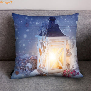 Singace Sofa Car Christmas Cushion Cover Polyester Sofa Car Cushion Cover Home Decor Cushion Chair