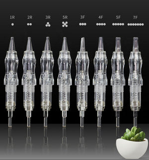 Biomaser 10PCS Revolution Tattoo Needle Permanent Makeup Cartridge Needles For Tattoo Machine Kit
