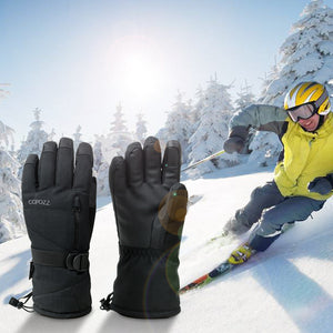 Ski Gloves Waterproof Gloves with Touchscreen Function Snowboard Thermal Gloves Warm Snowmobile Snow