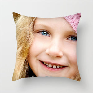 Fuwatacchi Life Photo Customization Pillow Cover Child Personal Customize Cushion cover Linen