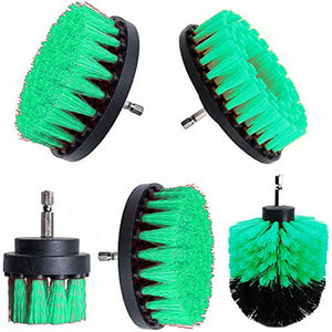 2 3.5 4 5 inch Drill Cleaning Brush Round Head Power Scrubber Stiff Bit Pad Bathroom Tile Tool