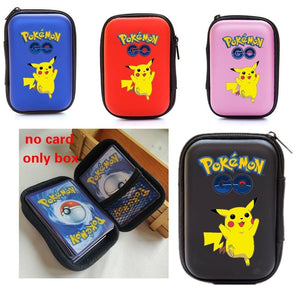 50 Capacity Cards Holder Album Notebook Hard Case Card Holder For Pokemon Pikachu Magic Yugioh Board