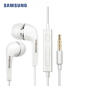 Samsung EHS64 Earphone Wired 3.5mm In-ear with Microphone Wired Controller Support Android for
